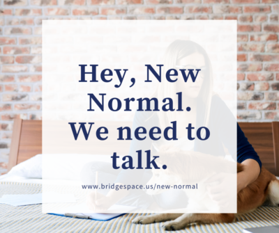 An Open Letter To The New Normal Bridge Space